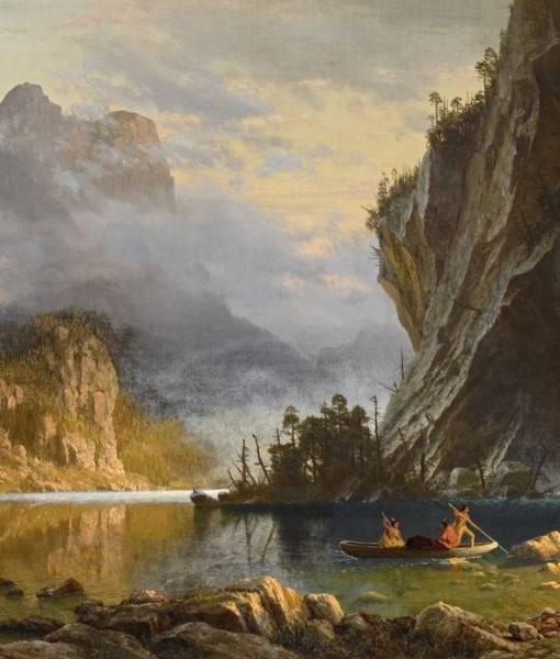 Фотообои «Индейцы. Подводная рыбалка» (ID 1624)