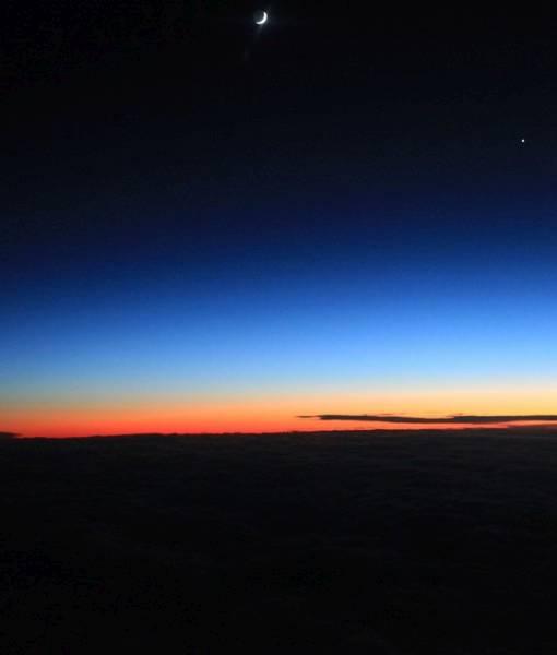 Фотообои Ночное небо (ID 1724)