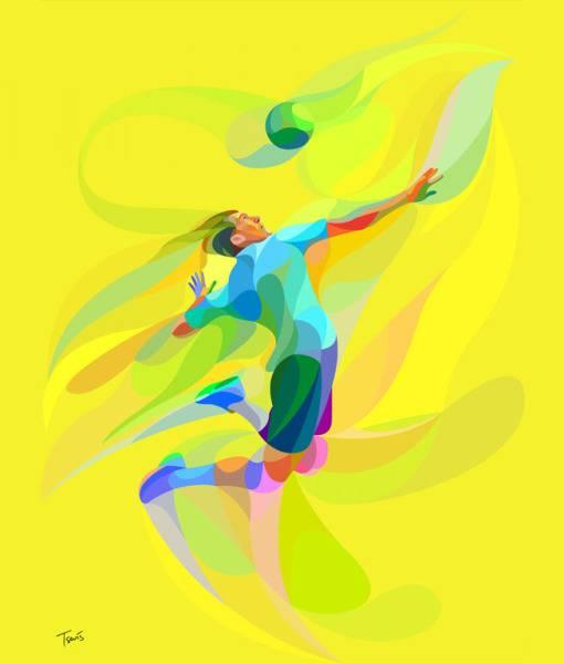 Фотообои Волейбол (ID 872)