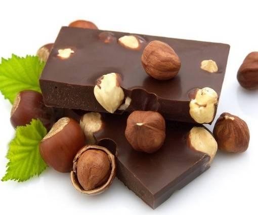 Фотообои Шоколад с фундуком (ID 954)