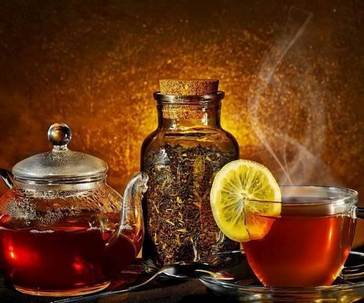Фотообои Чай с лимоном (ID 996)