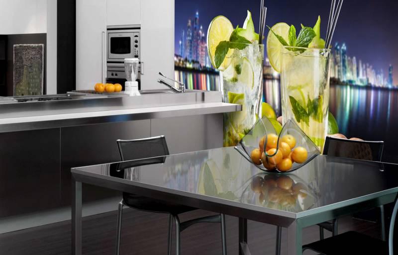 фотообои для стен кухни