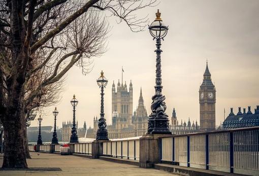 Фотообои Лондонская набережная (ID 1837)