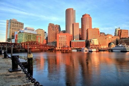 Фотообои Панорами Бостона (ID 2227)