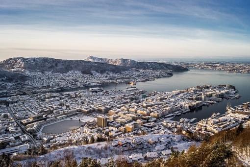 Фотообои Панорама города (ID 2399)