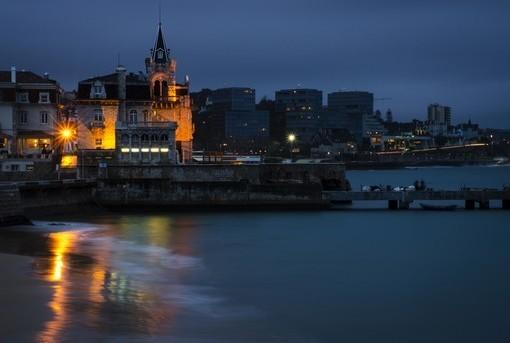 Фотообои Португалия. Вид ночного города (ID 2444)
