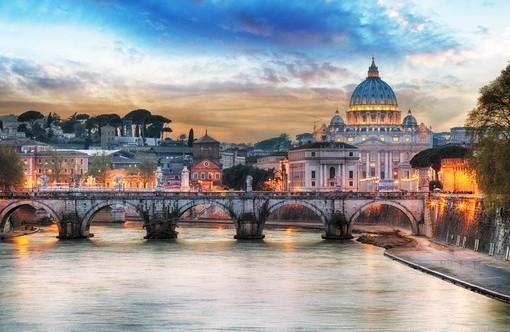 Фотообои рим. Италия (ID 2458)