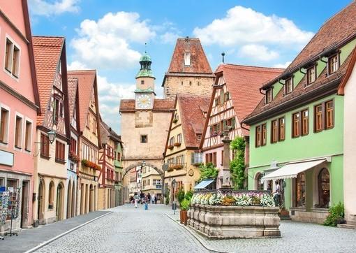 Фотообои Бавария. Городская улица (ID 2611)