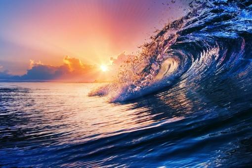 Фотообои Волна в лучах солнца (ID 2799)