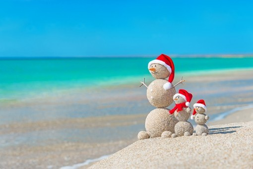 Фотообои Снеговик на отдыхе (ID 3043)