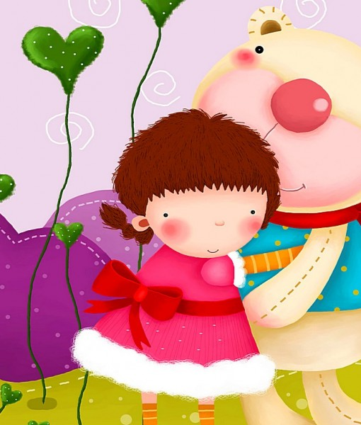 Фотообои Детский рисунок (ID 4984)