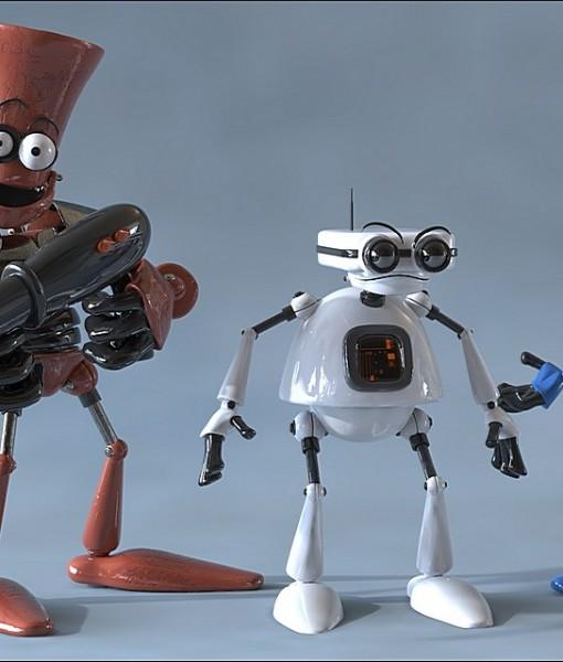 Фотообои Роботы (ID 5065)