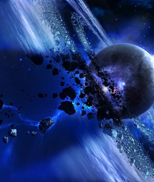 Фотообои Кольцо астероидов (ID 5482)
