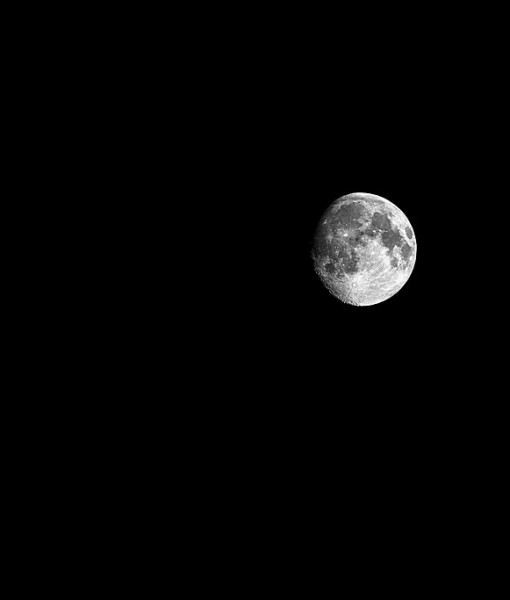 Фотообои Луна в ночном небе (ID 5617)