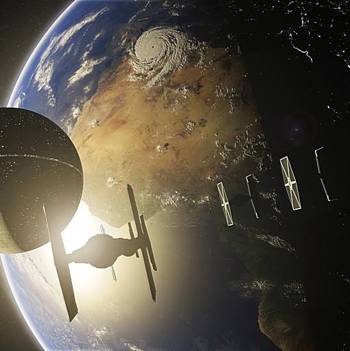 Фотообои Звездный флот (ID 5849)