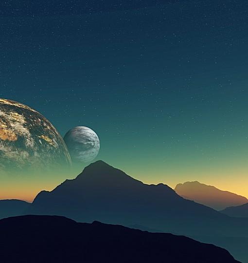 Фотообои На поверхности далекой планеты (ID 6194)