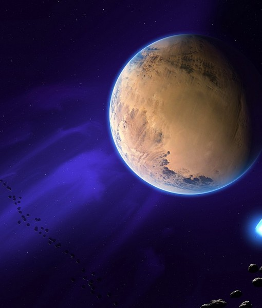 Фотообои Пояс астероидов (ID 6213)