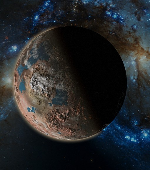 Фотообои Далекая планета (ID 6214)
