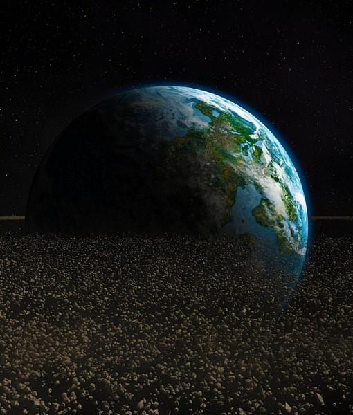 Фотообои Пояс астероидов (ID 6222)
