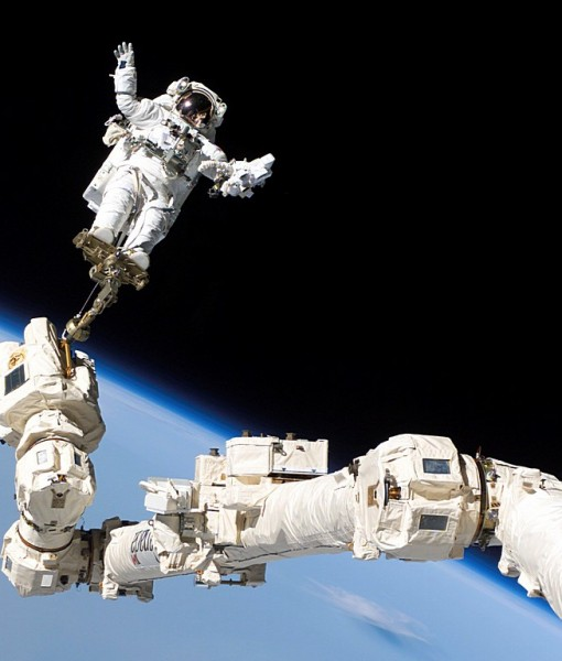 Фотообои В открытом космосе (ID 6224)