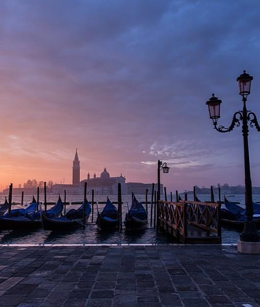 Фотообои Раннее утро в Венеции (ID 7207)