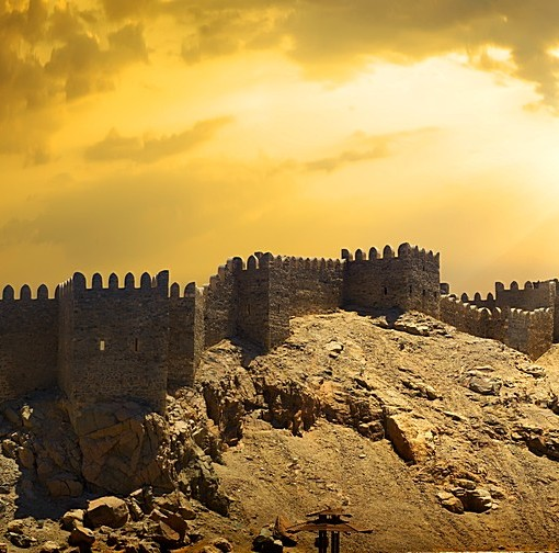 Фотообои Старинный замок (ID 7218)