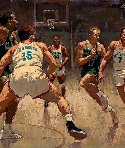 Фотообои Баскетбол. Рисунок (ID 13212)