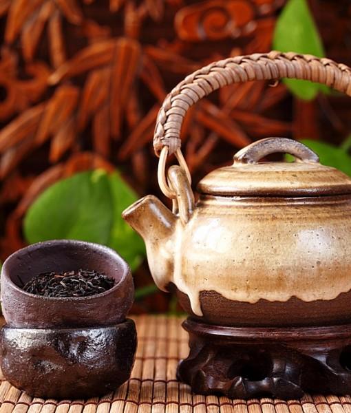 Фотообои Чайные приборы (ID 13549)