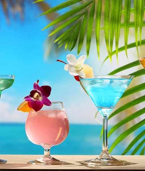 Фотообои Тропический коктейль (ID 13842)
