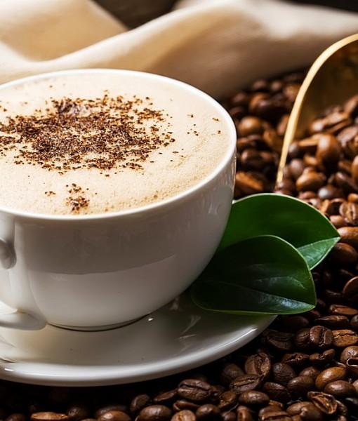 Фотообои Чашка и зерна кофе (ID 14066)