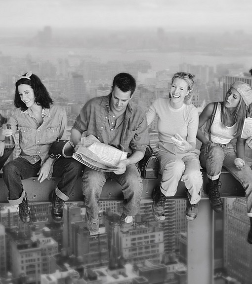 Фотообои Люди на высоте (ID 14405)