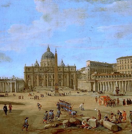 Фотообои Площадь в Риме (ID 15412)