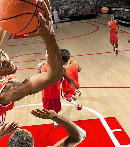 Фотообои Баскетбол (ID 9851)