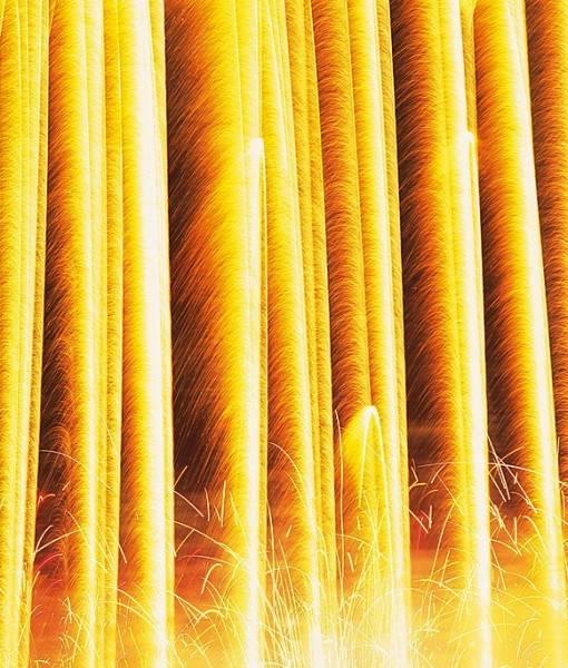 Фотообои Огненный фонтан (ID 15579)