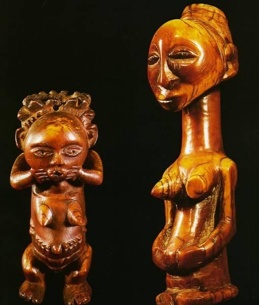 Фотообои Деревянные статуэтки (ID 16201)