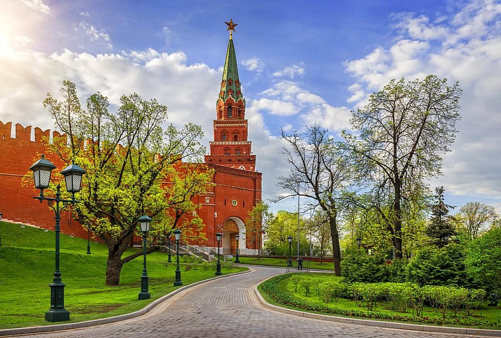 Боровицкая башня Кремля Borovitskaya tower