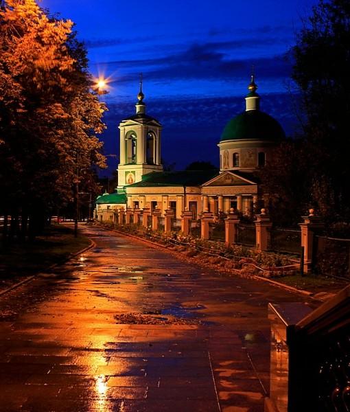 Церковь на Воробьевых горах (ID 17697)