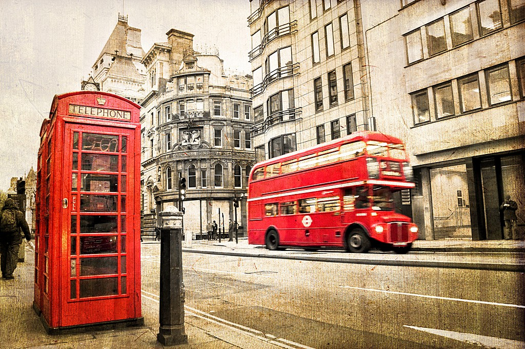 44870568 - fleet street, vintage sepia texture, london uk